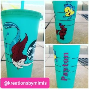 Other - Custom Starbuck color changing  cup W/design &name
